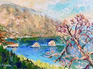 Весна в Гурзуфе. Елена Шведова. Мой пленэр в Крыму. Ярмарка Мастеров - ручная работа, handmade.