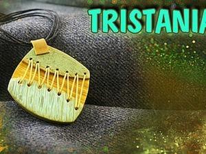 Видеоурок: кулон со шнуровкой из полимерной глины. Ярмарка Мастеров - ручная работа, handmade.