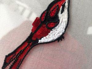 Обновила рисунок для курса  «Основы люневильской вышивки». Ярмарка Мастеров - ручная работа, handmade.