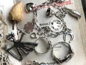 Анонс. Серебряные винтажные украшения. Ярмарка Мастеров - ручная работа, handmade.