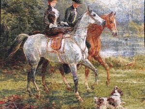 Дамы и кавалеры на лошадях. Ярмарка Мастеров - ручная работа, handmade.
