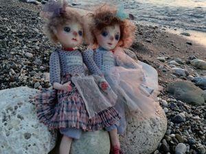 Куколки-путешественницы. Ярмарка Мастеров - ручная работа, handmade.
