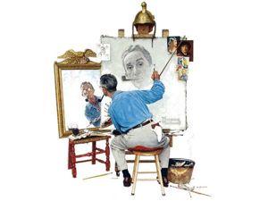 19 автопортретов великих художников. Ярмарка Мастеров - ручная работа, handmade.
