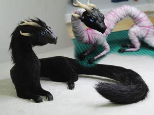 Делаем игрушку в смешанной технике: Дракон. Ярмарка Мастеров - ручная работа, handmade.