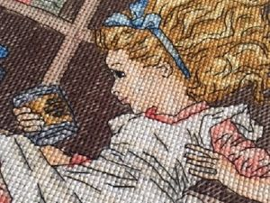 Вышивка  «Алиса в кроличьей норе» . Продолжение. Ярмарка Мастеров - ручная работа, handmade.