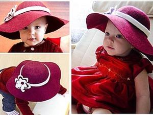 Мастер-класс: шляпка слауч из фетра. Ярмарка Мастеров - ручная работа, handmade.
