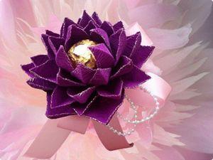 Необычный способ изготовления цветов из гофробумаги, или Гнём гофру поперёк. Ярмарка Мастеров - ручная работа, handmade.