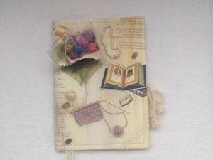 Декорируем обложку альбома для фотографий  «Моё рукоделие». Ярмарка Мастеров - ручная работа, handmade.