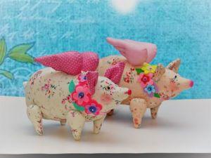 Мастер-класс по пошиву Свинки-Тильды. Ярмарка Мастеров - ручная работа, handmade.