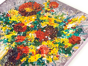 """Создаем картину """"Букет красок"""". Ярмарка Мастеров - ручная работа, handmade."""
