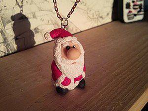 How to Sculpt a Santa Claus Souvenir from Polymer Clay. Livemaster - handmade