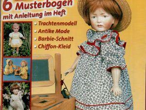 Журнал Puppen Kleidung № 2/03 — мода для кукол. Ярмарка Мастеров - ручная работа, handmade.