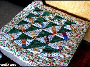 Шьем лоскутное одеяло. Ярмарка Мастеров - ручная работа, handmade.