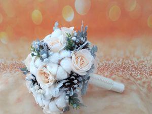 Готовые свадебные букеты со скидкой 30%!. Ярмарка Мастеров - ручная работа, handmade.