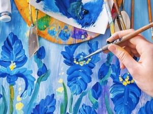 Секреты живописи акрилом. Ярмарка Мастеров - ручная работа, handmade.