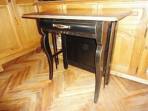 """Делаем симпатичный столик """"из того, что было"""". Ярмарка Мастеров - ручная работа, handmade."""
