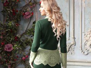Видео-ролик, костюм  «Зеленая роща». Ярмарка Мастеров - ручная работа, handmade.
