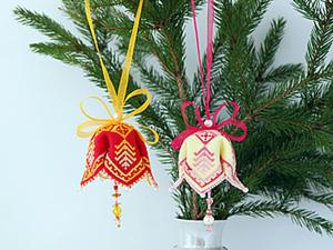МК Новогодние колокольчики. Ярмарка Мастеров - ручная работа, handmade.