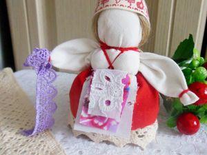Мастерим народную куклу Желанницу. Ярмарка Мастеров - ручная работа, handmade.