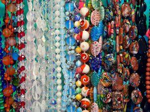 Аукцион  «Бусы, колье, цепочки...»  от нескольких мастеров. Ярмарка Мастеров - ручная работа, handmade.