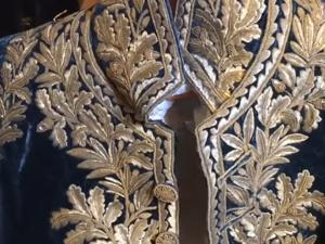 Придворное платье при Дворе Наполеона с вышивкой золотом из запасников Эрмитажа. Ярмарка Мастеров - ручная работа, handmade.