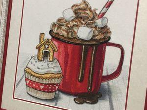 Новогодний Зимний десерт. Ярмарка Мастеров - ручная работа, handmade.