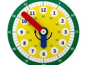 Как научить ребенка определять время!. Ярмарка Мастеров - ручная работа, handmade.