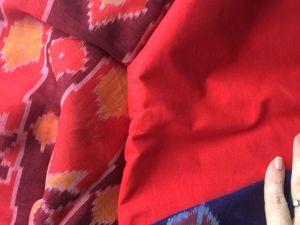 Предложение к пошиву фуфайки — уникальный хлопоквый икат. Ярмарка Мастеров - ручная работа, handmade.