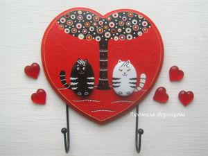Мастерим оригинальную ключницу «Первое свидание». Ярмарка Мастеров - ручная работа, handmade.