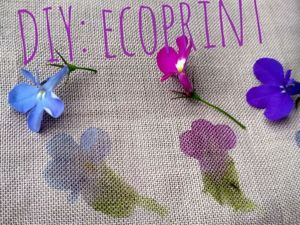 Creating Ecoprint from Flowers and Leaves. Livemaster - handmade