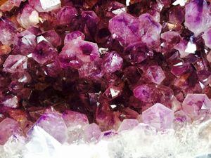 О свойствах камней: аметист. Ярмарка Мастеров - ручная работа, handmade.