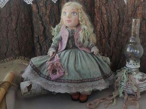 Наташенька. Текстильная кукла в подарок. Ярмарка Мастеров - ручная работа, handmade.