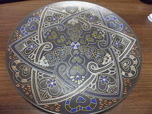 """Тарелка """"Сердце Востока"""". Ярмарка Мастеров - ручная работа, handmade."""