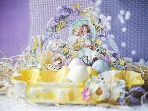 Творческое преображение картонной упаковки: делаем пасхальную подставку для яиц. Ярмарка Мастеров - ручная работа, handmade.