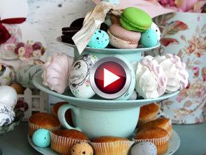 Составляем этажерку для сладостей своими руками. Ярмарка Мастеров - ручная работа, handmade.