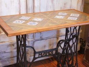 Мастер-класс: превращение металлолома в стильный столик. Ярмарка Мастеров - ручная работа, handmade.