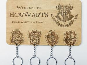 Знакомство с ключницей «Welcome to Hogwarts». Ярмарка Мастеров - ручная работа, handmade.