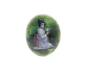 Аукцион: Японка на нефрите. Ярмарка Мастеров - ручная работа, handmade.