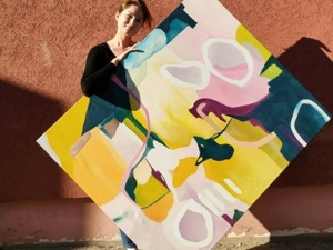 Порадуем вас яркой картиной в теплых солнечных лучах. Ярмарка Мастеров - ручная работа, handmade.