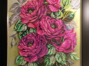 Розовые розы Светке Соколовой на праздник подарю. Ярмарка Мастеров - ручная работа, handmade.