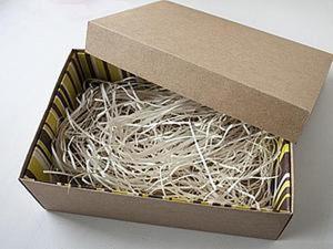 Как придать жесткость простой коробке?. Ярмарка Мастеров - ручная работа, handmade.
