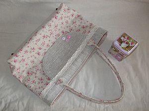 Раскрой и пошив текстильной сумки. Ярмарка Мастеров - ручная работа, handmade.