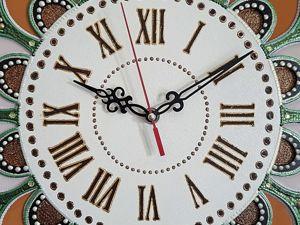 Маленькие истории моих работ. Часы  « Мелодия души»  для Ларисы. Ярмарка Мастеров - ручная работа, handmade.