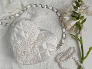 Шьем нежную сумочку для невесты. Ярмарка Мастеров - ручная работа, handmade.
