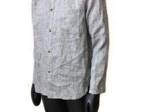 Льняные рубашки как вид искусства!. Ярмарка Мастеров - ручная работа, handmade.