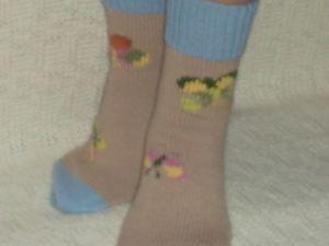 Скидка на вязаные носочки. Ярмарка Мастеров - ручная работа, handmade.