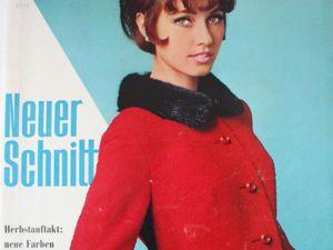 Neuer Schnitt — журнал мод 9/1965. Ярмарка Мастеров - ручная работа, handmade.