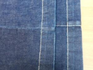 Как укоротить расклешенные джинсы с сохранением низа. Ярмарка Мастеров - ручная работа, handmade.
