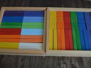 Деревянные кубики ручной работы. Ярмарка Мастеров - ручная работа, handmade.