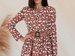 Обзор платье на пуговицах бордового цвета. Ярмарка Мастеров - ручная работа, handmade.